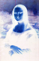 Mona Lisa negative